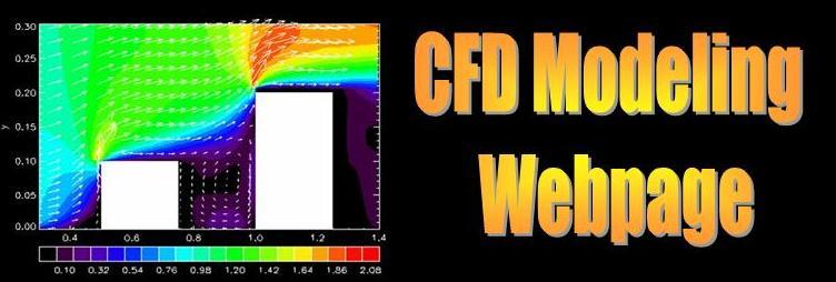 CFD modeling webpage